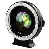 Viltrox EF-M2 II Auto Messa a fuoco obiettivo Adattatore 0,71X per obiettivo Canon EF lente a Micro Four Thirds fotocamera Olympus Panasonic
