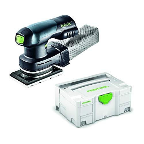 Festool RTSC400 Akku-Schwingschleifer RTSC400Li-Basic Herstellernr. 201519, 18 V, schwarz/grün, Medium