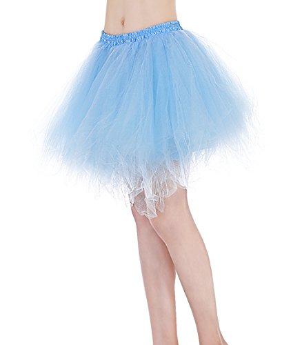 Find Dress Tüllrock Petticoat Unterrock tutu Reifrock kleid 50er Hochzeit Vintage Prinzessin schwarz und weiß für Rockabilly kleider Faltenrock 50s Rockabilly ballkleider FD10001Rot L-XL -