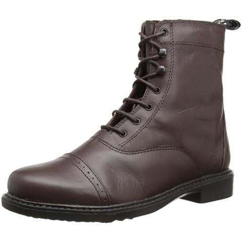 Las mujeres TuffRider acordono Laced botas Paddock barroco Marrón moca Talla:4