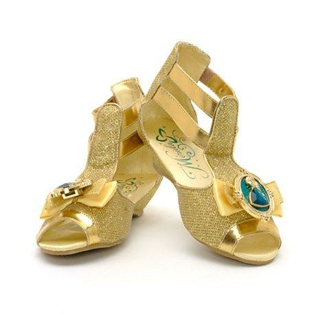 Disney, Merida - Legende der Highlands - Gold-formalen Kostümschuhe / Schuhe für Kinder - UK Größe, 7 - 8 , EU Größe 24 - 26