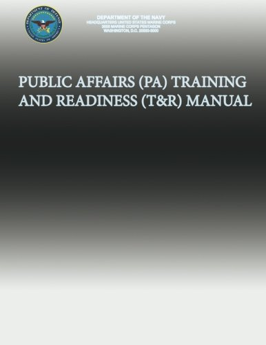 Public Affairs (Pa) Training and Readiness (T&r) Manual por Department of the Navy