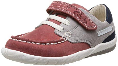 Clarks Softly Flag Fst, Chaussures de ville garçon
