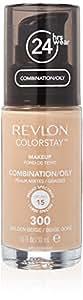 Revlon Colorstay Makeup Combination Oily Skin Fond de Teint 300 Golden Beige 30 ml