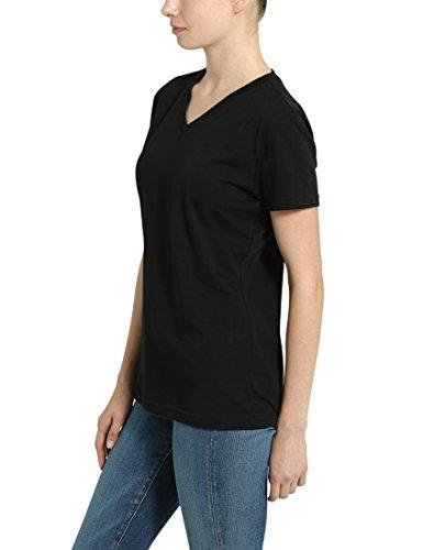 Berydale T-shirt à encolure en V pour femme Noir