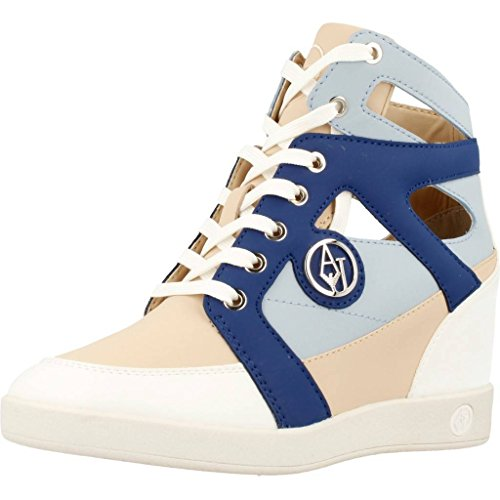 Armani Jeans Damen Laufschuhe, Color Weiß, Marca, Modelo Damen Laufschuhe 925171 Weiß