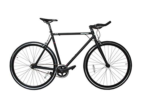 Greenway Single Speed Fixed Gear Fixie Road bike mozzo flip flop biciclette (56, 58, 62cm), 56
