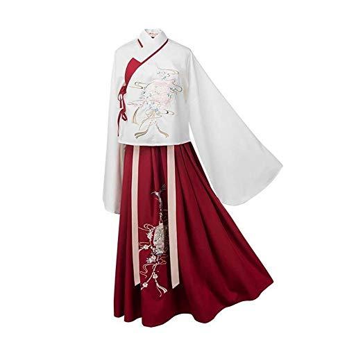 Susichou Neues Hanfu Fairy Dress Traditionelles, verbessertes Hanfu Performance-Kostüm - Traditionelle Märchen Kostüm
