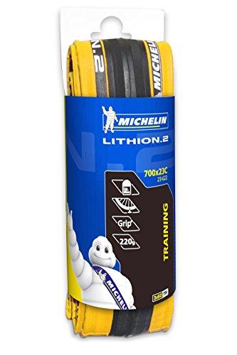 "Michelin Lithion2 Fahrrad Bereifung Gelb 28"" 700x23 23-622"