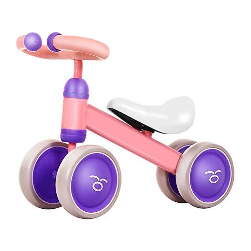 succeedw Bici per Bimbi, Passeggini per Bambini, Sport Leggeri No Pedal Bicycle, Toddler Push Bike miglior Regalo per 10 Mesi 36 Mesi Girls And Boys