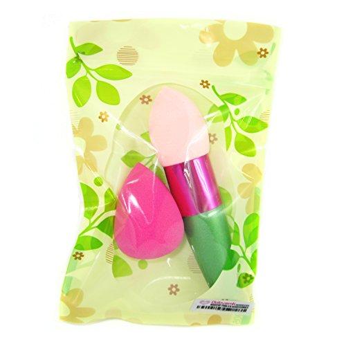 Dolovemk 2 pcs/lot éponge de maquillage blender Brosse douce Beauté et sans défaut Mélange éponge