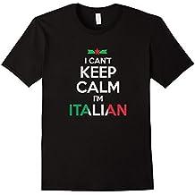 I Can't Keep Calm, I'm Italian T shirt - Unisex
