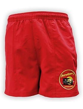 Lifeguardgear Herren Short Rot Rot