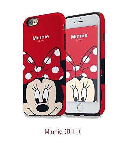 Générique New Disney Minnie Cartoons Transparent Coque Souple en TPU pour Apple iPhone 5, 5S, 5C, 6 &6S (iphone 7/8, Minnie 1)