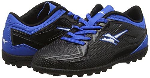 Gola Boys Rapid VX Football Boots  Black  Black Blue  11 Child UK 29 EU