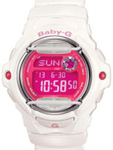 G-Shock Uhr Baby-G - Weiß / Pink Uhr Casio G-shock Weiß