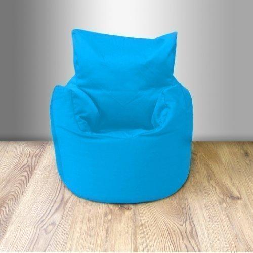 Ready Steady Bed Kindersitzsack, aus Baumwoll-Drillich, mit Füllung, Türkis