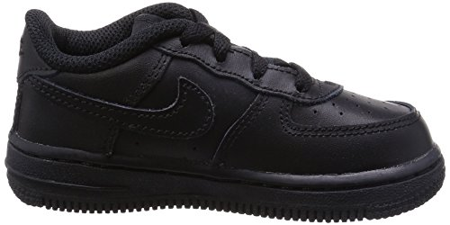 NikeFORCE 1 TD - Scarpe sportive Unisex – Bambini Black/Black/Black
