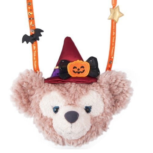 (Halloween 2016 Spooky Little Halloween of Sherry Mae stuffed coin case witch witch Duffy [Tokyo Disney Sea Limited])