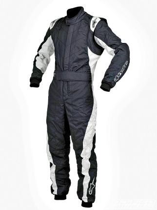 Alpinestars GP Tech Suit - Black - Overall für Auto Racing - TG. 44 Alpinestars Gp Tech Racing
