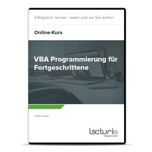 Online-Videokurs VBA Programmierung für Fortgeschrittene von Sandra Seifert