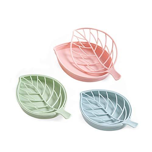 Hemore Seifenschale/Seifenschale für Geschirr, 3-teilig, Seifenablage, Ablage für Das Bad