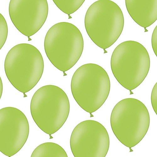 cm - Pastell Hellgrün Helles Grün - Formstabil - Kleenes Traumhandel® (Um Baloons)