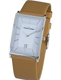 Jacques Lemans Herren-Armbanduhr York Analog Quarz Leder 1-1603E