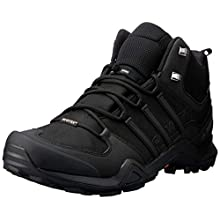 adidas Men's Terrex Swift R2 Mid Cross Trainers, Black (Core Black/Core Black/Core Black), 10 UK