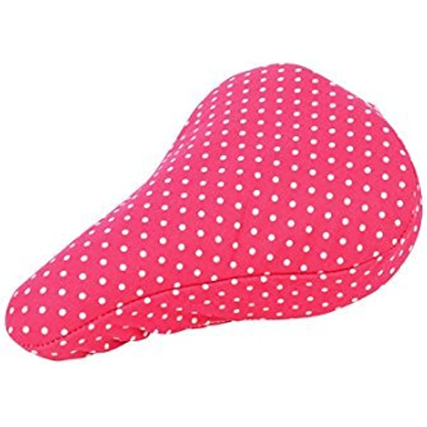 UPNOW Waterproof Seat Covers Little Unicorn and Mermaid Sitting at The Pink Clo Seat Covers for Kids Girls Bike Seat Covers with Drawstring Rain and Dust Resistant for Most of Bike Saddles