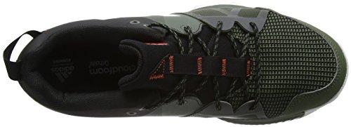 adidas Kanadia 8 TR M, Chaussures de running entrainement homme Noir (core Heather/ White/craft Chili)