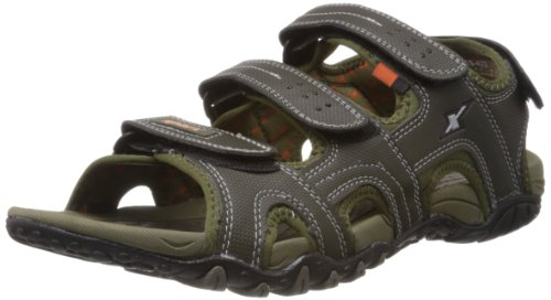 Sparx Men's Olive Sandals and Floaters - 9 UK (SS-422)