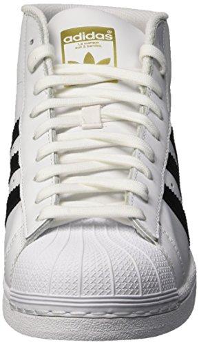adidas Pro Model, Scarpe a Collo Alto Uomo Multicolore (Ftwwht/Cblack/Ftwwht)