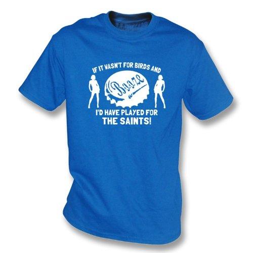 Wenn es war nicht für Vögel und Schnäpse… Das Heilig-T-Shirt Königsblau