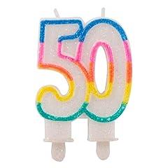 Idea Regalo - Candeline Compleanno col numero 50