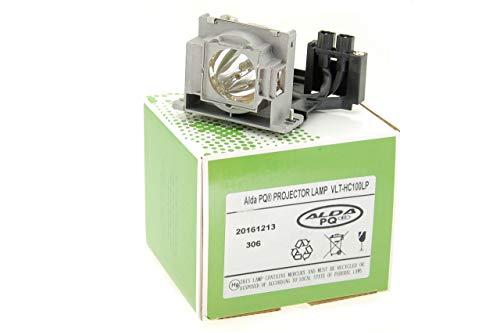 Alda PQ-Premium, Beamerlampe / Ersatzlampe für MITSUBISHI HC1500 Projektoren, Lampe mit Gehäuse