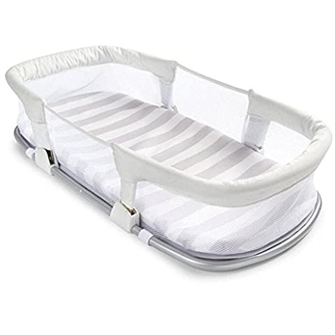 Safe Isolationsbett Kinderbett Baby Klappbett Tragbare Krippe Weiße Krippe (Pferd Neugeborene Krippe)
