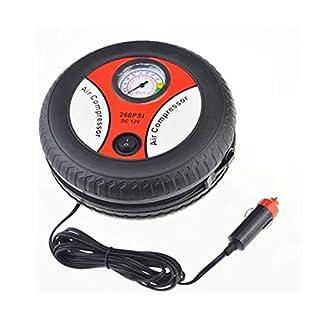 Gugutogo Auto Inflation Pump Air Compressor Mini Reifen-Design 12V allgemeinhin für Auto