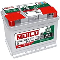 Mutlu 027 AGM Car Battery 12V 60Ah 720A (SAE) 680A (EN) preiswert