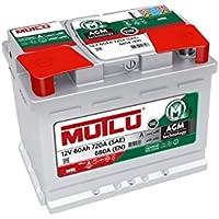 Mutlu 027 AGM Car Battery 12V 60Ah 720A (SAE) 680A (EN) - ukpricecomparsion.eu