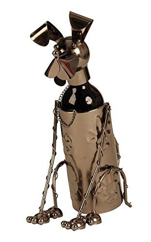 Wein-Flaschenhalter Hund