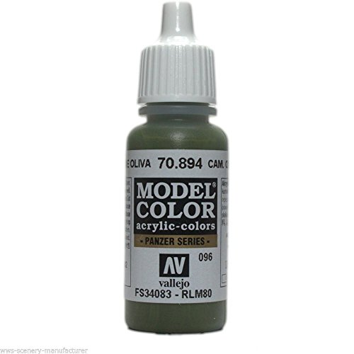 WWG Vallejo Acrylic Paint Model Color Cam Olive Green 70.894 - Wargame Miniature - Cami Olive