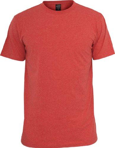 Urban Classics Herren T-Shirt Rot - Rot