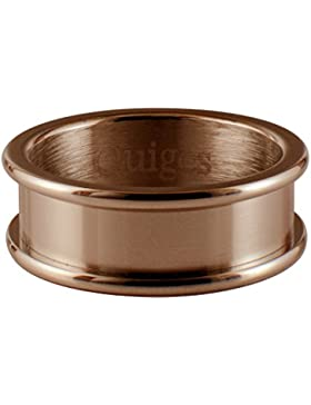 Quiges Damen-Stapelring Basisring Edelstahl - verschiedene Farben und Ringgrößen - Höhe 6mm