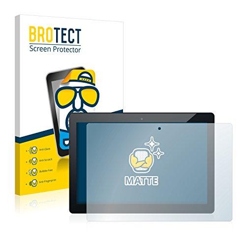 BROTECT Entspiegelungs-Schutzfolie kompatibel mit Odys Winpad 12 (2 Stück) - Anti-Reflex, Matt