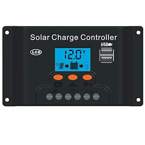 24V Controlador 1500W Inversor Ac220V 60A TOOGOO 18V20W Panel Solar 12V Adecuado Para Sistemas De Generacion De Energia De Ahorro De Energia Solar Al Aire Libre Y En El Hogar Ac220V