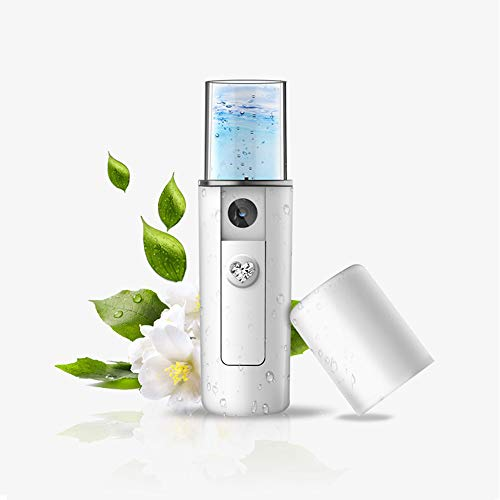 Handheld Nano Mister Sprayer Portable Facial Steamer Sprayer Mist & Skin Care Face Hydration, Rechargeable Humidifier mit USB-Kabel -