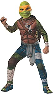 Disfraz de Teenage Mutant Ninja Turtles Michelangelo para niños