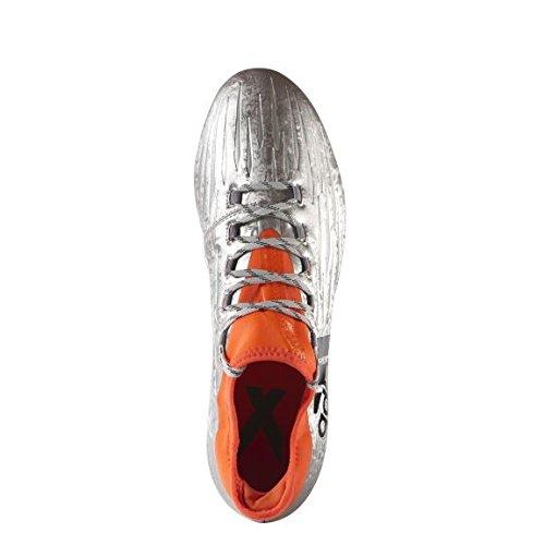 adidas Herren X 16.2 FG Fußballschuhe silber - orange - schwarz