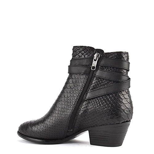Ash Chaussures Lois Boots a Talon Femme Noir
